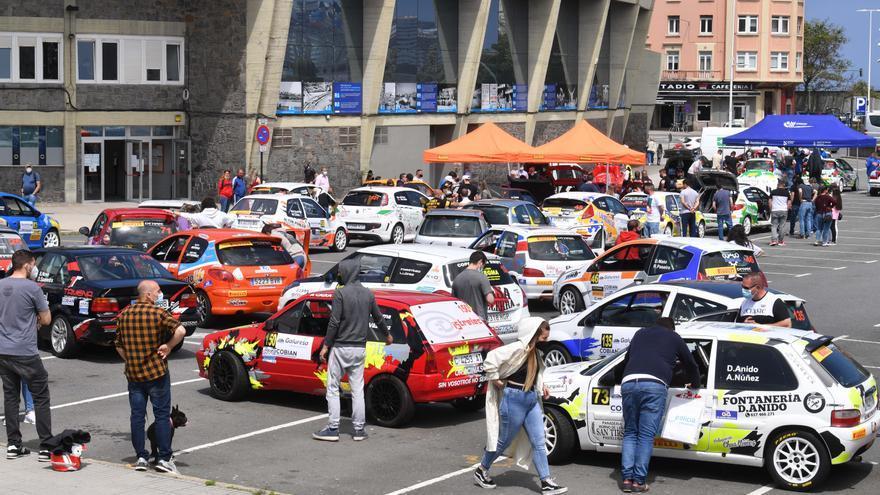 El rally de A Coruña celebra este fin de semana su 25 aniversario