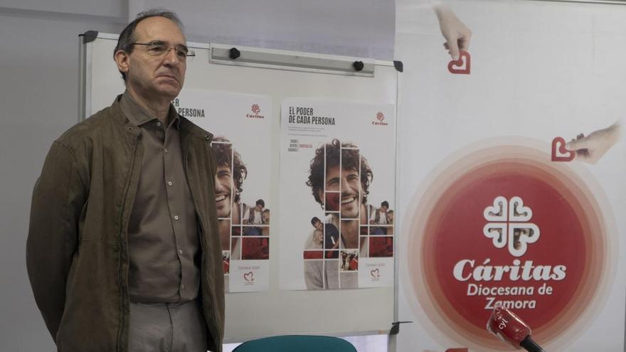 """Cáritas detecta un aumento """"espectacular"""" de la pobreza en Zamora por culpa de la pandemia"""