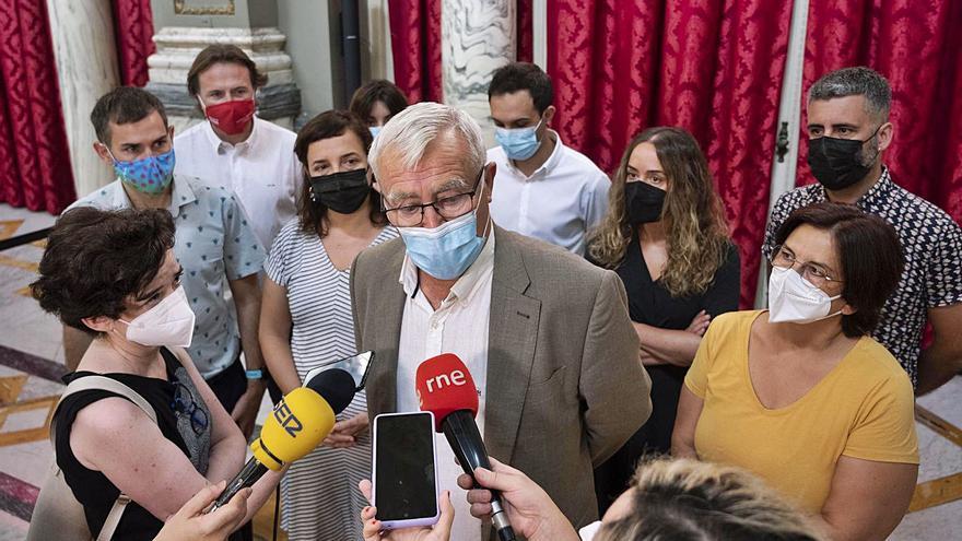 La oposición enfría el balance optimista de Ribó sobre la reconstrucción