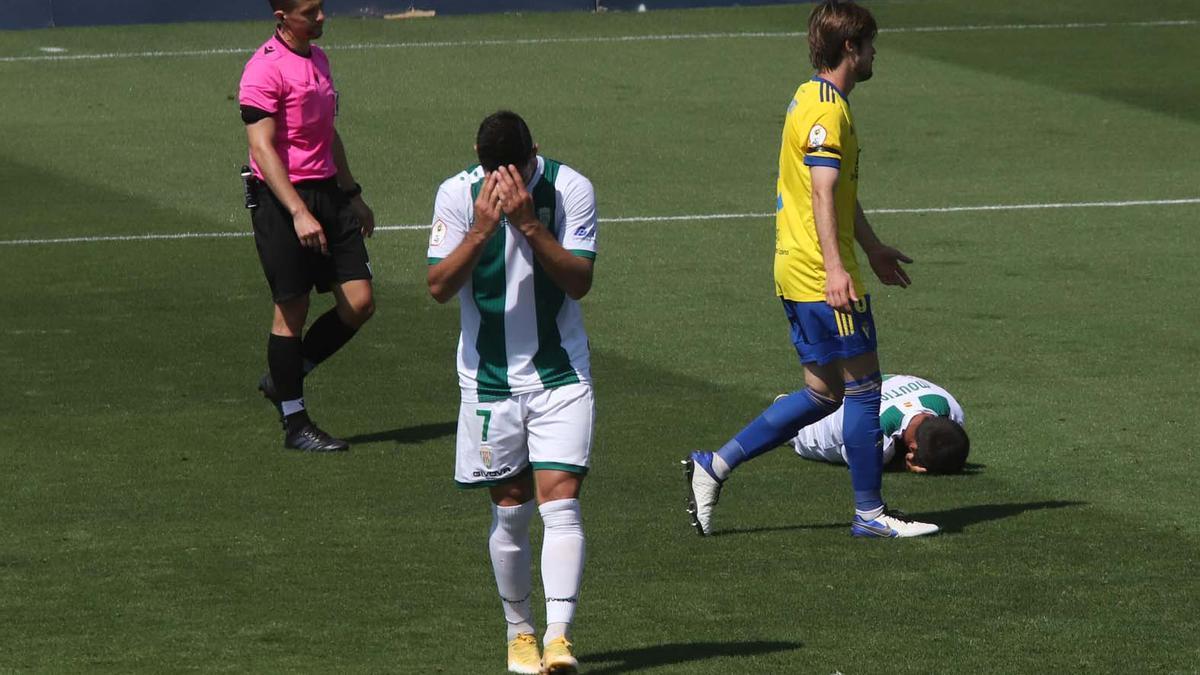 Las imágenes del Cádiz B - Córdoba CF