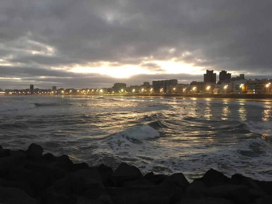 Deportistas en Las Palmas de Gran Canaria