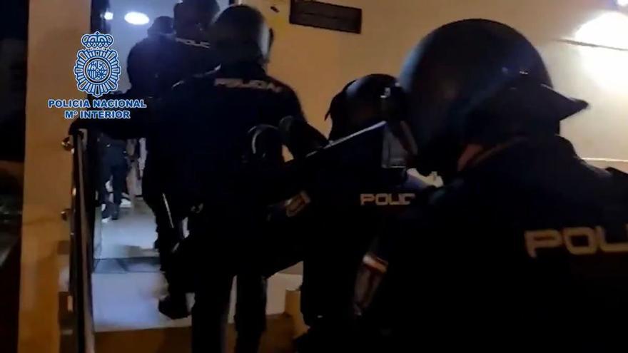 Detenidos 9 proxenetas y liberadas 16 víctimas explotación sexual en Tenerife