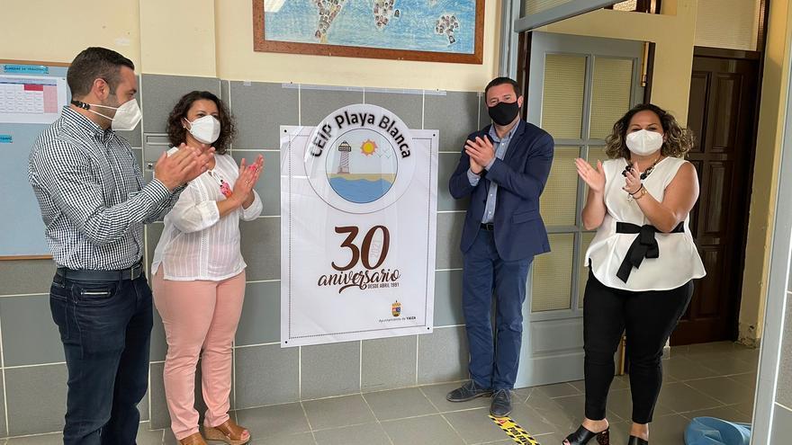 El colegio de Playa Blanca, el segundo más grande de Canarias, celebra 30 años
