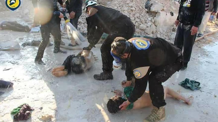 Més de cent morts per un atac químic a Síria