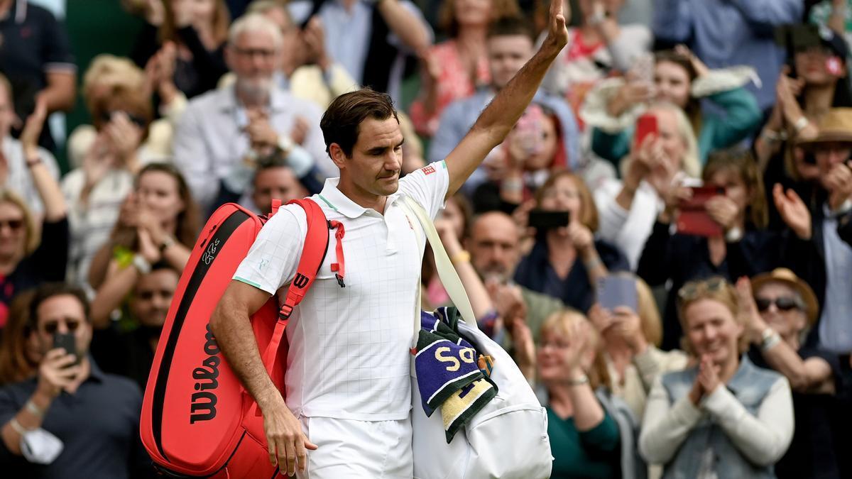 Swiss Roger Federer