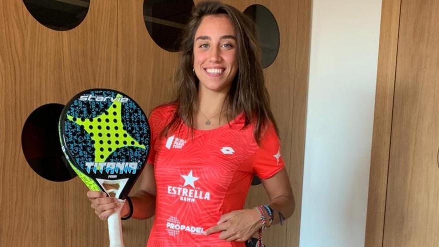 La malagueña Bea González se convierte en imagen del Club Propádel Dinamarca