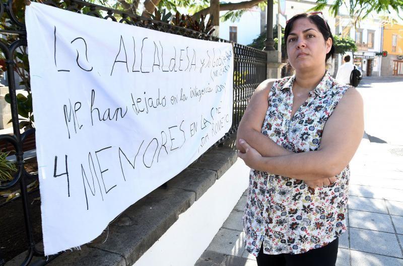04/12/2018 TELDE. Rita Romero, una mujer con cuatro hijos, desahuciada.   Fotografa: YAIZA SOCORRO.  | 04/12/2018 | Fotógrafo: Yaiza Socorro