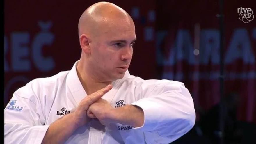 El campellero Juan Antonio Sepulcre revalida en Croacia el título de campeón de Europa de kárate adaptado