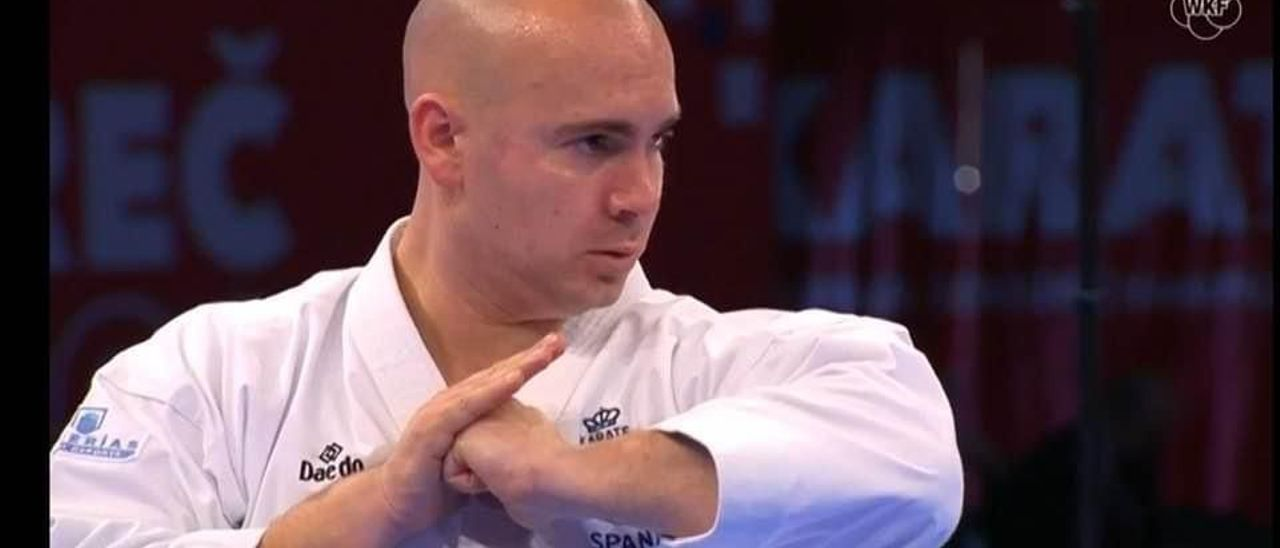 El karateca campellero Juan Antonio Sepulcre