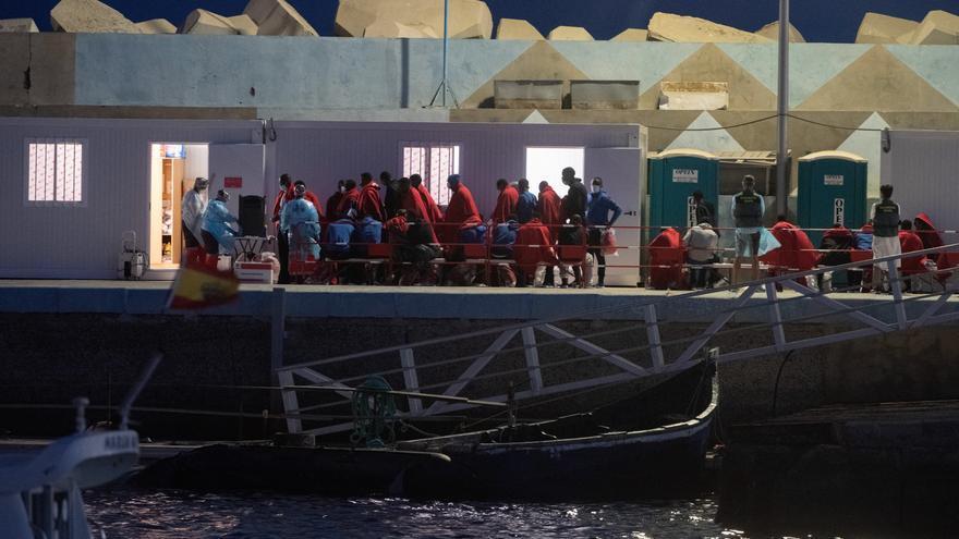 Llega de migrantes a Fuerteventura (03/09/21)