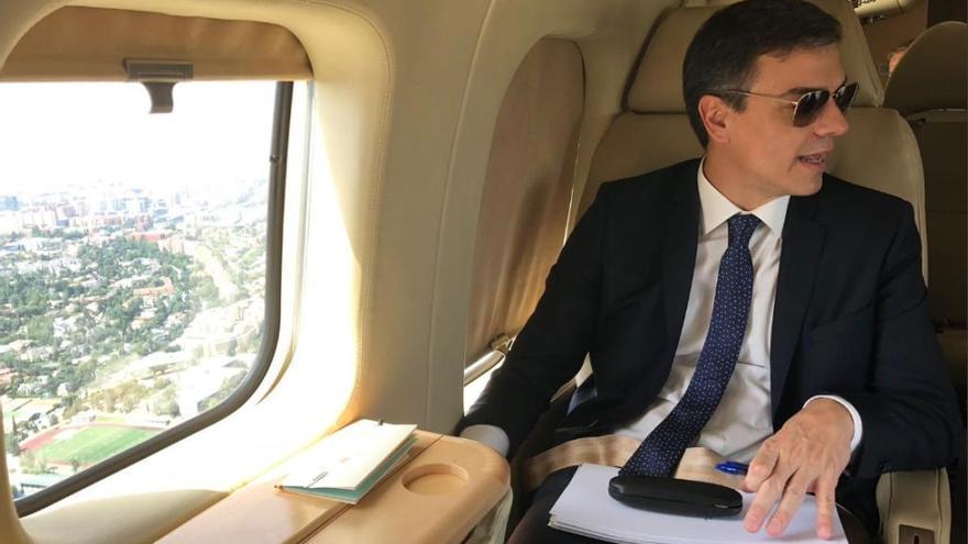 Transparencia insta al Gobierno a dar información al PP de los viajes en Falcon de Sánchez