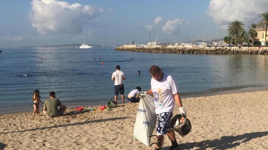 Mallorca se suma a la IV Gran Limpieza Nacional de Fondos Marinos
