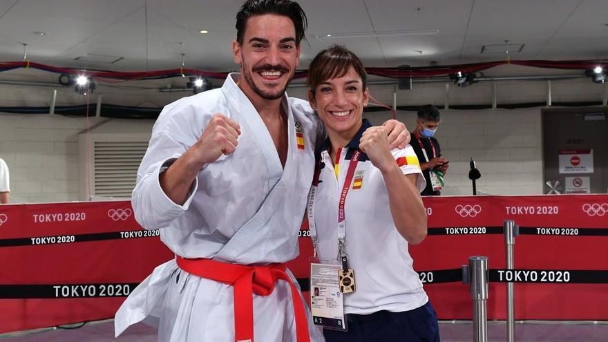 Damián Quintero y Sandra Sánchez, abanderados españoles en la ceremonia de clausura