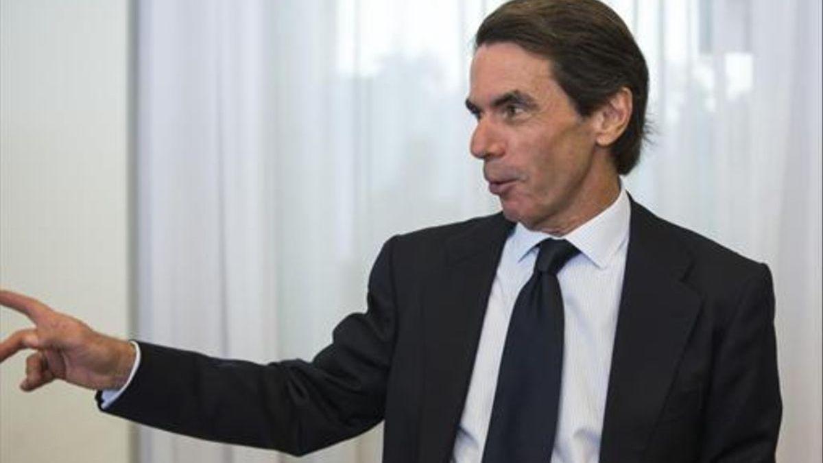 Aznar declarará por videoconferencia en el juicio de la 'caja b' del PP