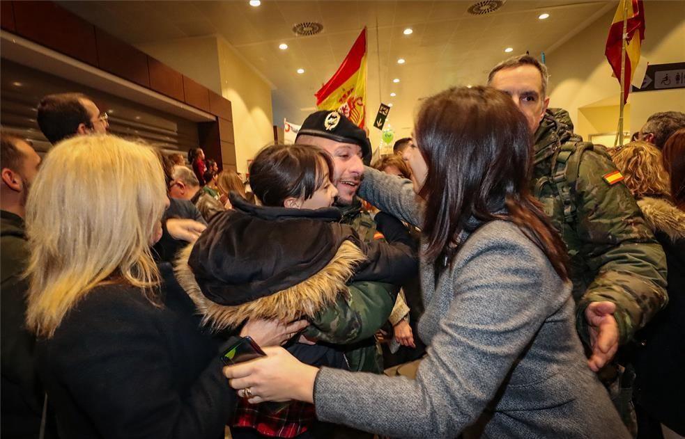 Llegan los militares de Letonia a Badajoz