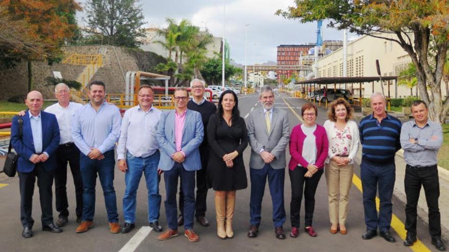 El Comité de Enlace Cepsa-Santa Cruz aborda la actualidad de la energética en su primer encuentro del año