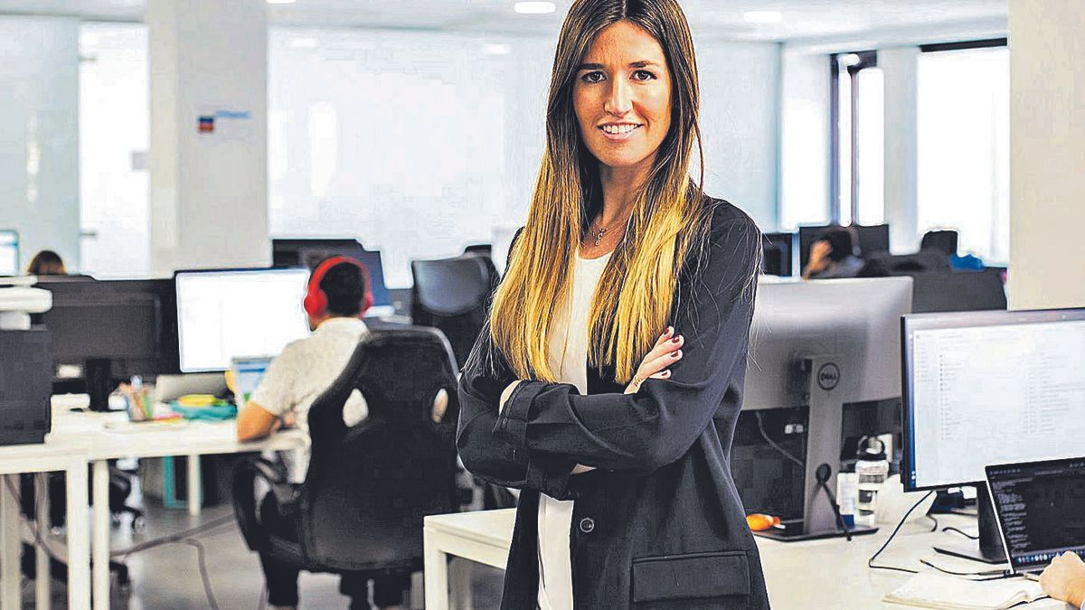 L'emprenedora Clàudia Pierre.  | MARIA D'OULTREMONT
