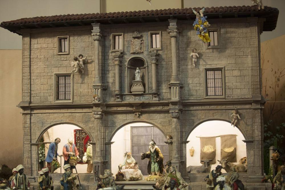 Belén ambientado en la ciudad de Oviedo