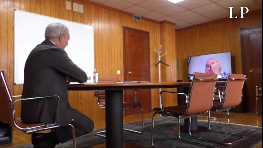 Coronavirus en Canarias| Franquis coordina con los cabildos las medidas para recuperar económicamente el sector del transporte