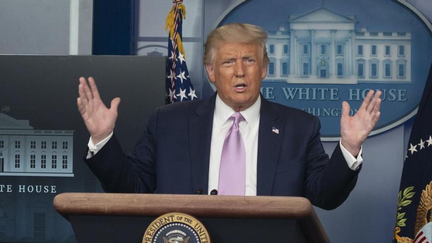 Trump llama a boicotear a los neumáticos Goodyear