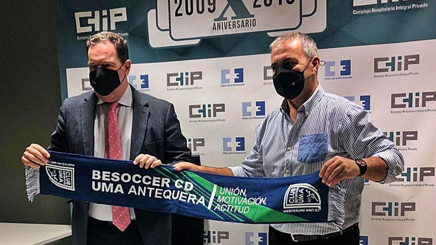 UMA Antequera y UD Coineña miden fuerzas en la Copa