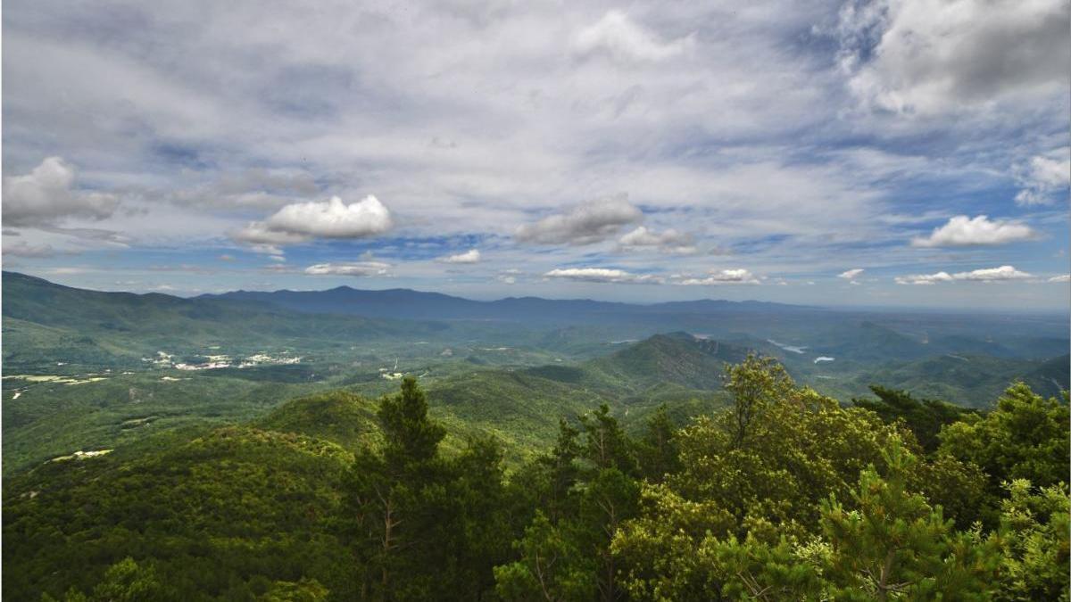 Vista des de l'ermita del Fau