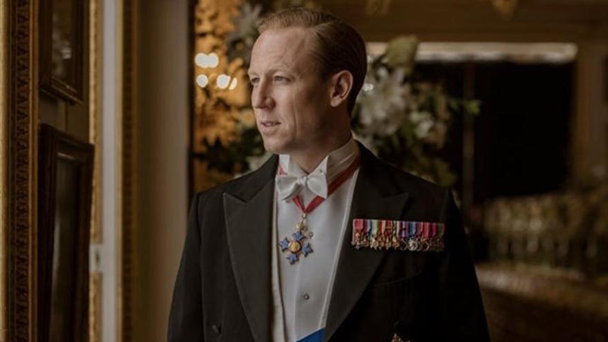 'The Crown': primera imagen de Tobias Menzies como el príncipe Felipe