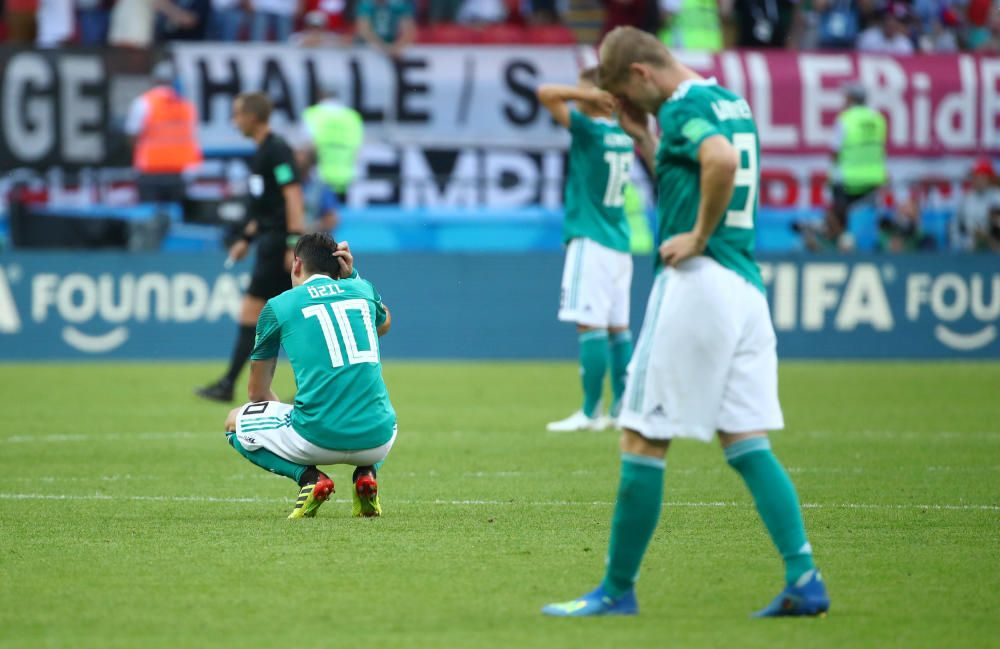 Alemania, eliminada del Mundial tras perder con Corea del Sur