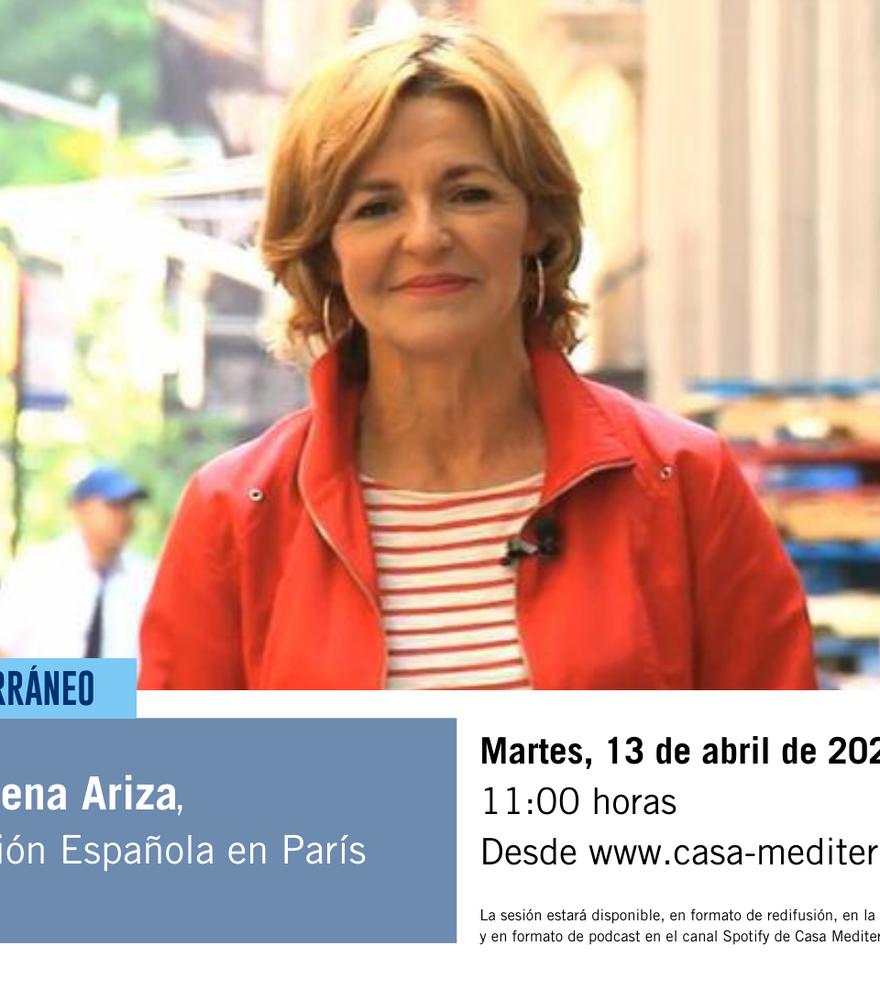 Encuentro con la corresponsal de TVE en París