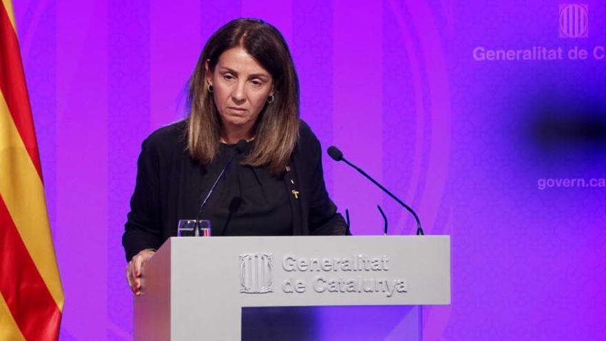 El Govern demana el trasllat «immediat» dels presos independentistes a presons catalanes