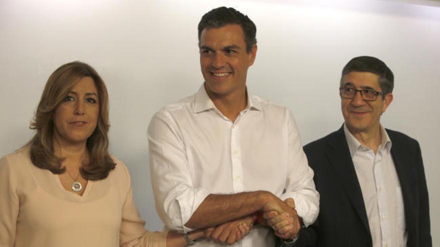 Pedro Sánchez ofrece a Patxi López un puesto en la nueva ejecutiva del PSOE