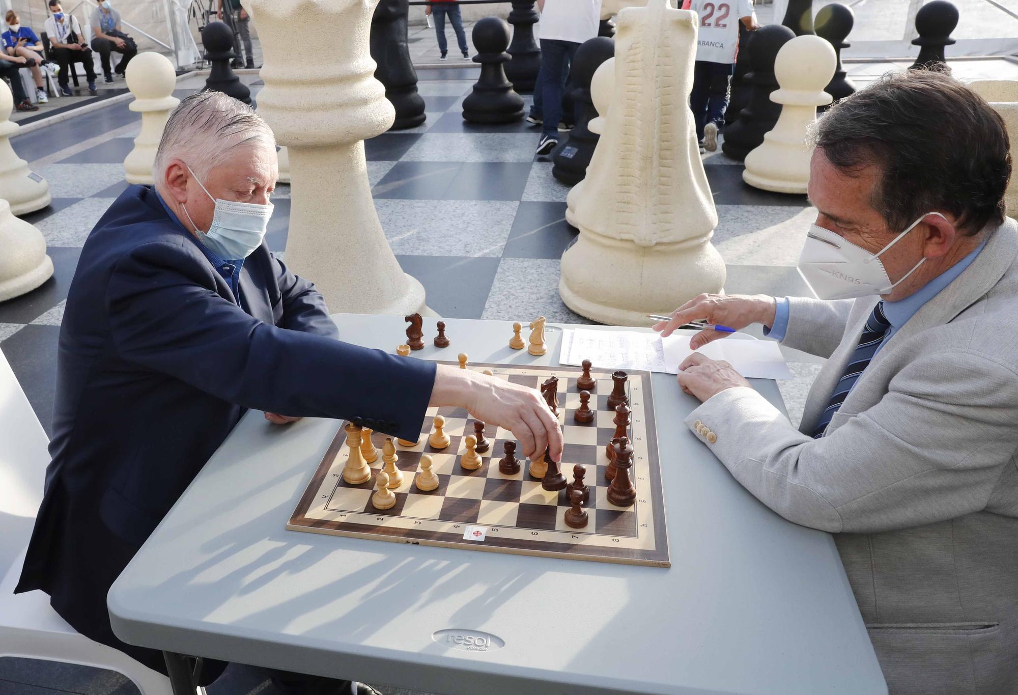 Karpov-Caballero, un duelo para la historia
