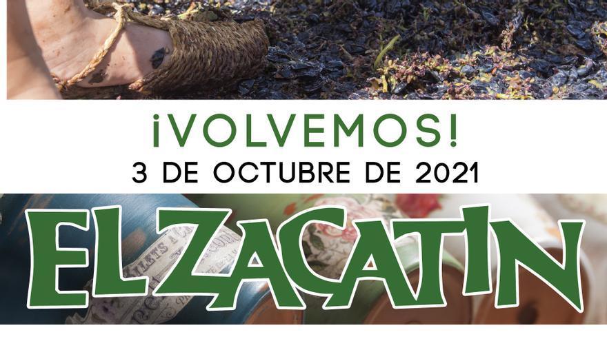 El próximo domingo regresa El Zacatín dedicado a la vendimia en Bullas