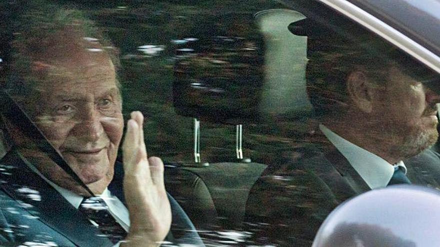 Juan Carlos I piensa volver a España