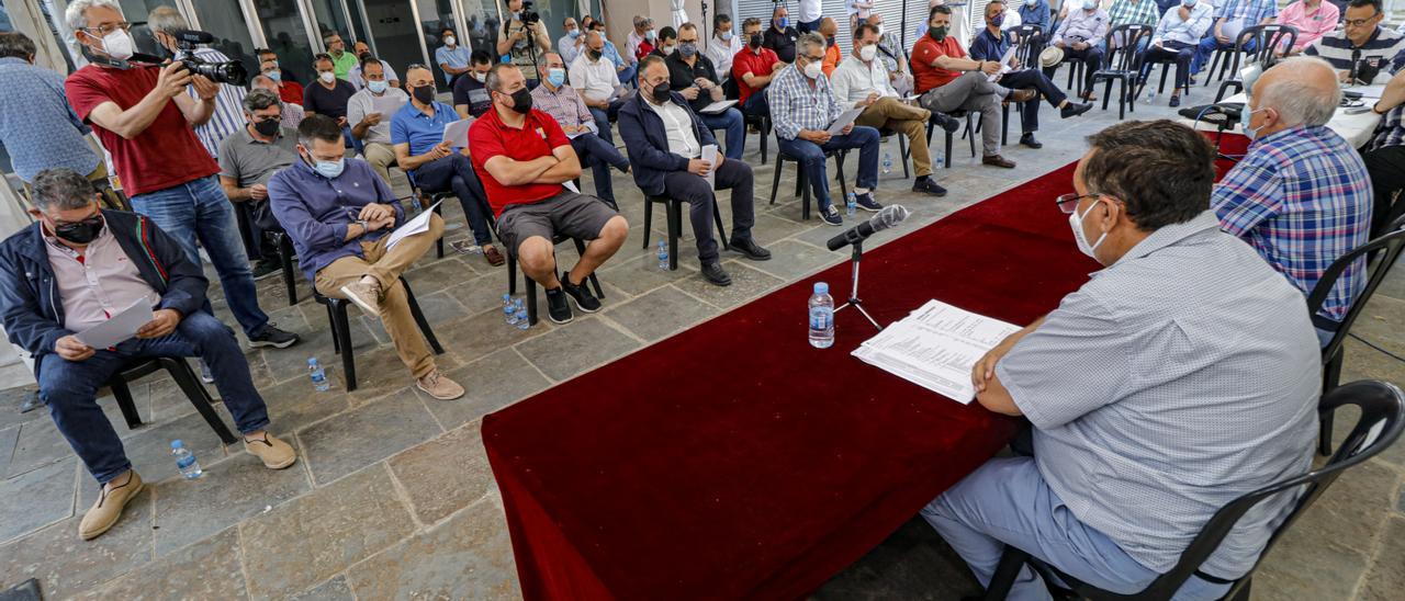 Asamblea de la Asociación de San Jorge celebrada el jueves.