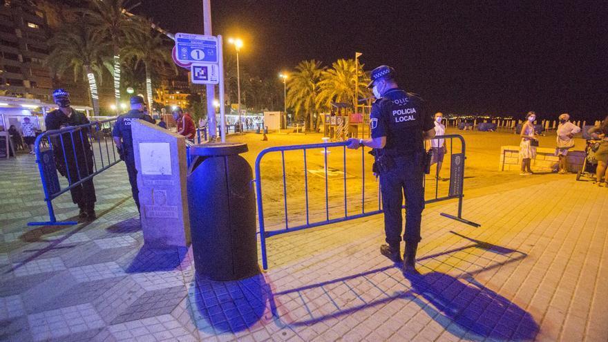 El Consell intenta frenar la quinta ola con toque de queda en Alicante, Benidorm y otros 16 municipios