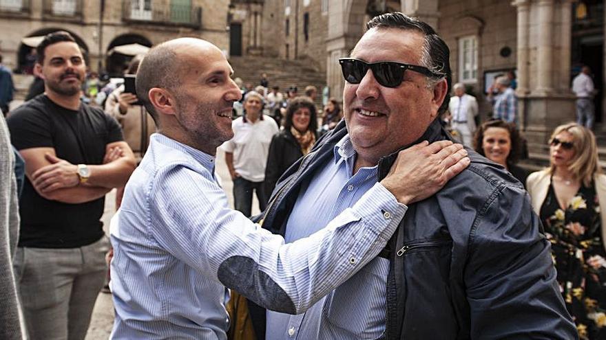 Jácome recupera el mando en la oficina de DO en la Diputación, con cambio de cerraduras incluido