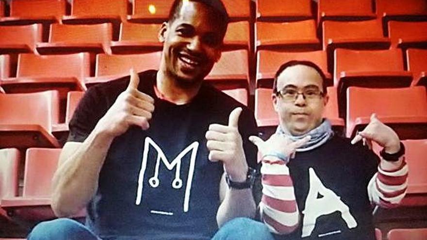 Ampans i el Baxi Manresa es van unir pel Dia Mundial  de la síndrome de Down