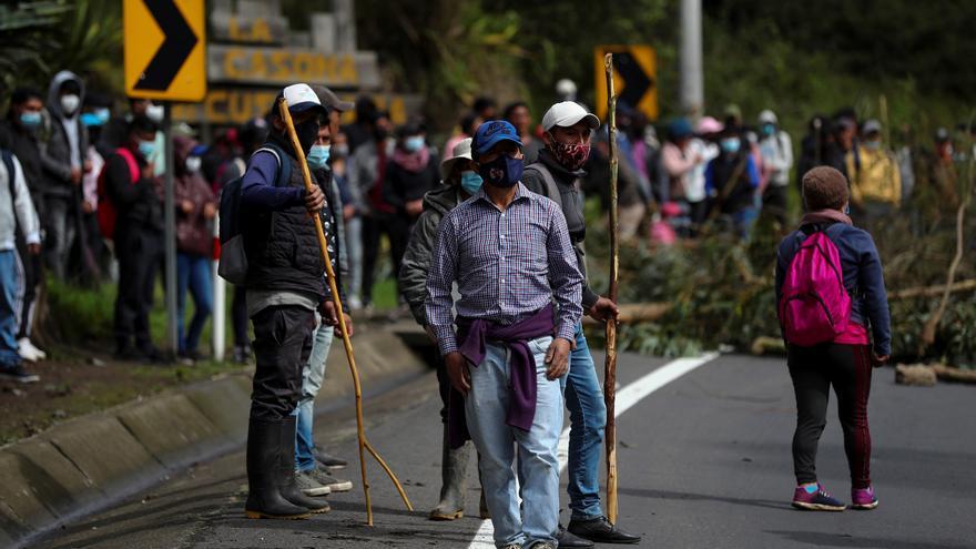 Los disturbios en Quito marcan las protestas contra Guillermo Lasso