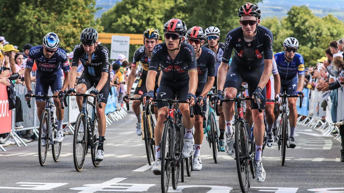 Participantes en el Tour de Francia