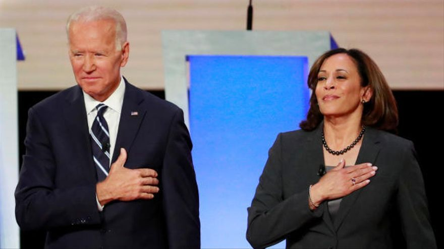 Kamala Harris acompañará a Joe Biden en la carrera presidencial de EEUU