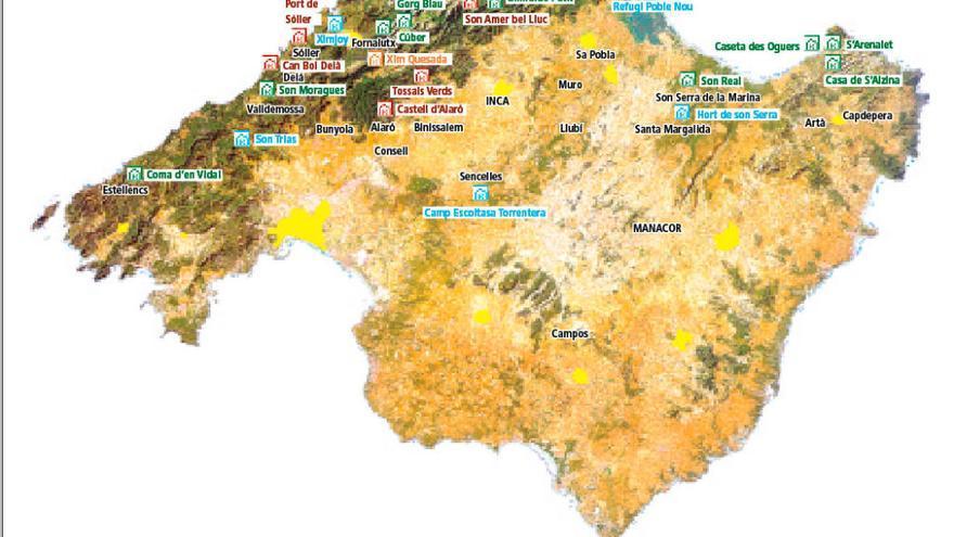 Das sind die Wanderhütten auf Mallorca