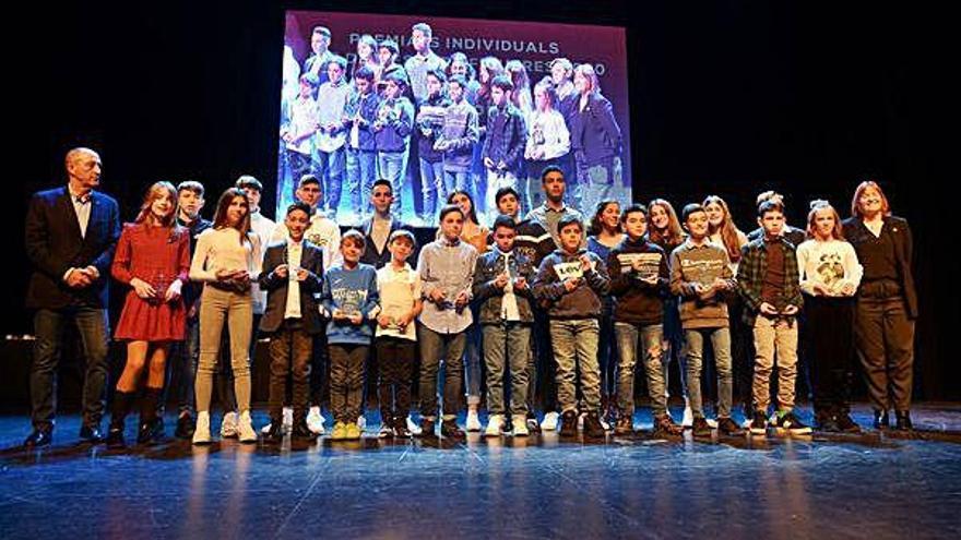 Figueres reconeix 73 esportistes destacats en la Nit de l'Esport