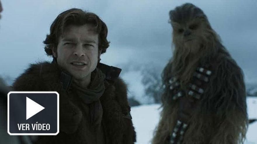 'Han Solo: Una historia de Star Wars': así es su primer tráiler