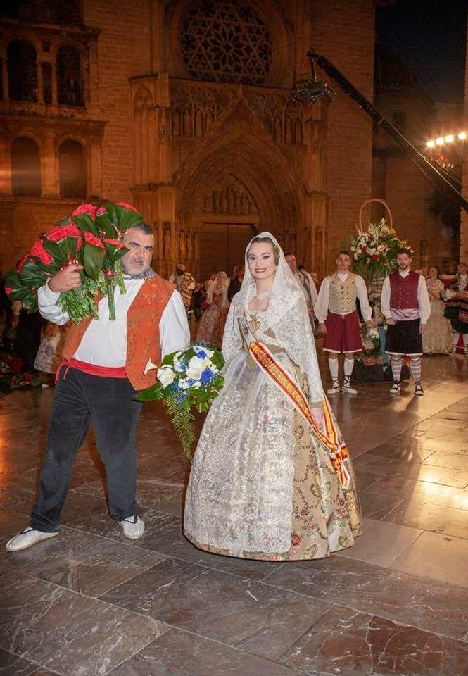 La Ofrenda que el destino le debe a a la fallera mayor de València