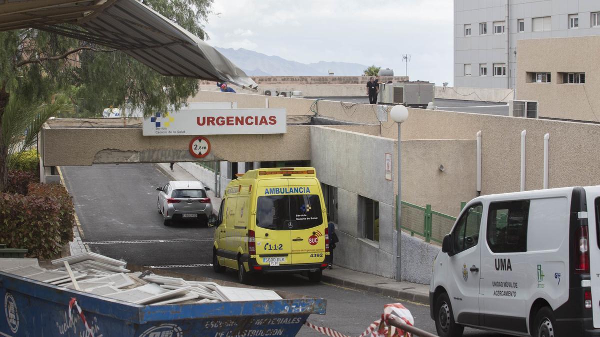 Urgencias del Hospital Universitario Nuestra Señora de Candelaria en una imagen de archivo.