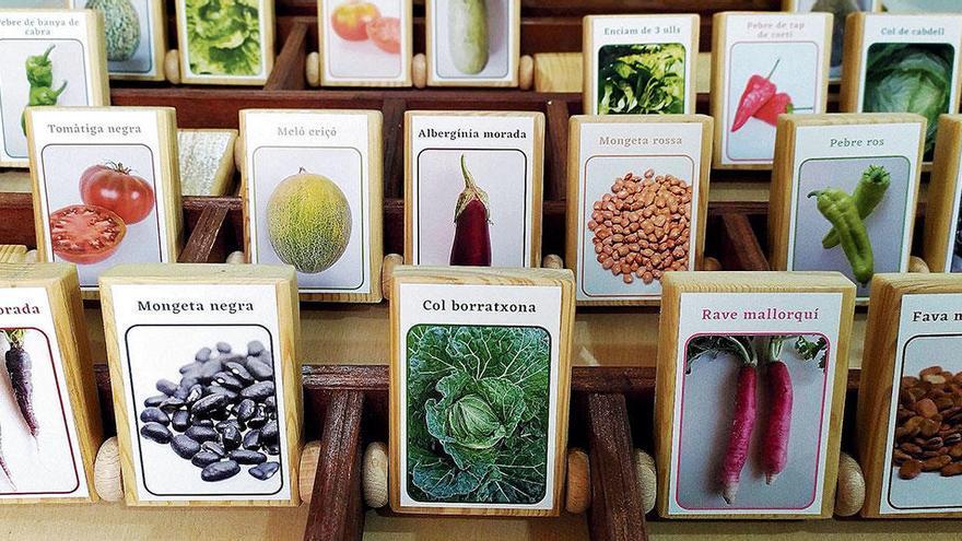 Ein Mallorca-Memory mit Erbse, Möhre und Tomate