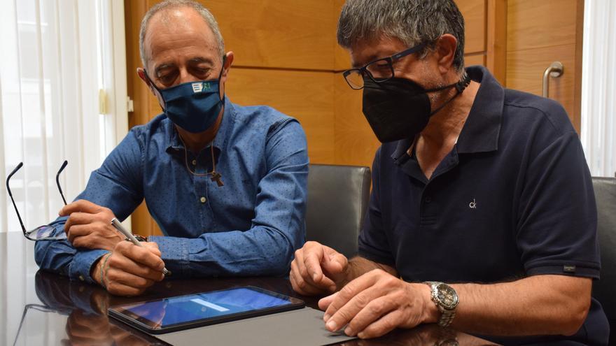 Siero Deportivo Balonmano, Atletismo Ciudad de Lugones y Club Automóvil Siero firman las subvenciones municipales