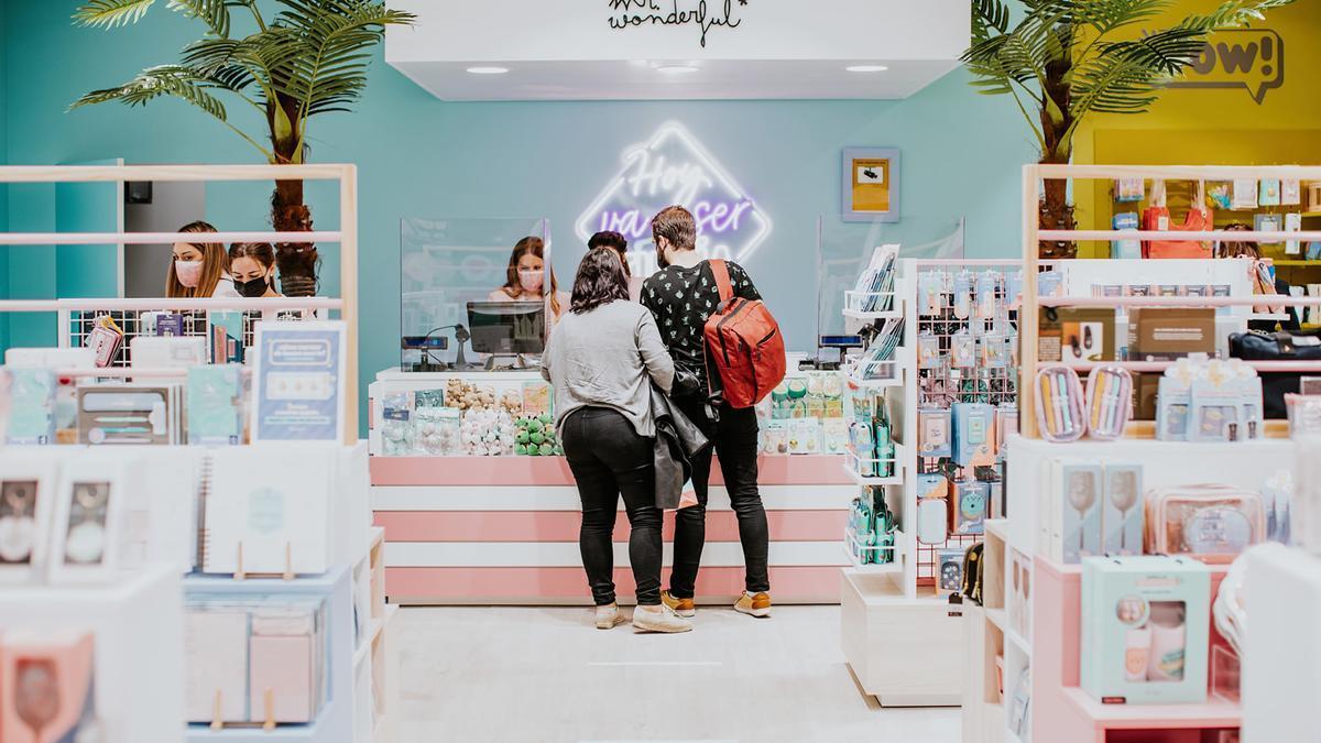 Una vista de la nueva tienda de Mr. Wonderful en Vialia.