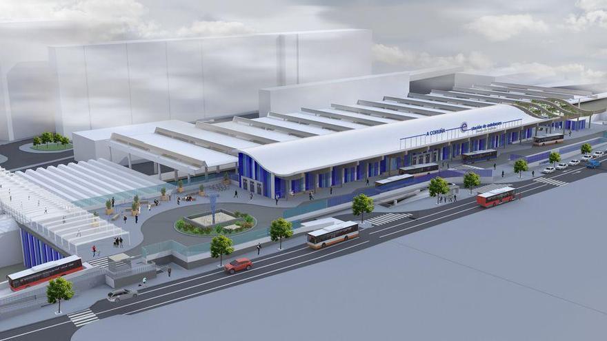 La Xunta da luz verde al convenio con el Concello y el Estado para desarrollar la estación intermodal